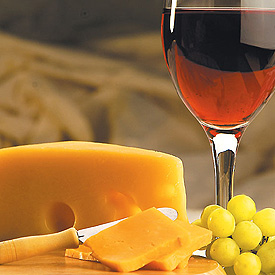 cheese-wine