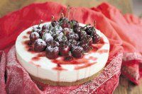 spakling-wine-cheesecake